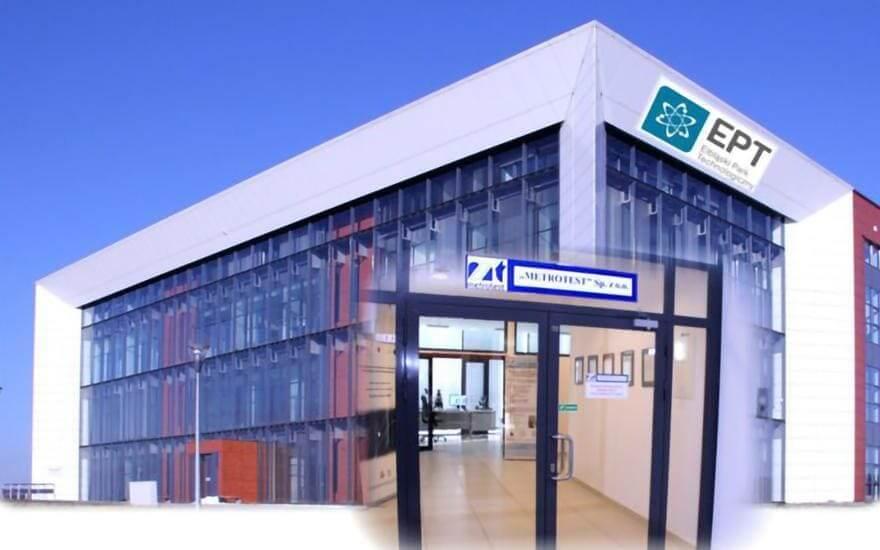 budynek firmy Metrotest